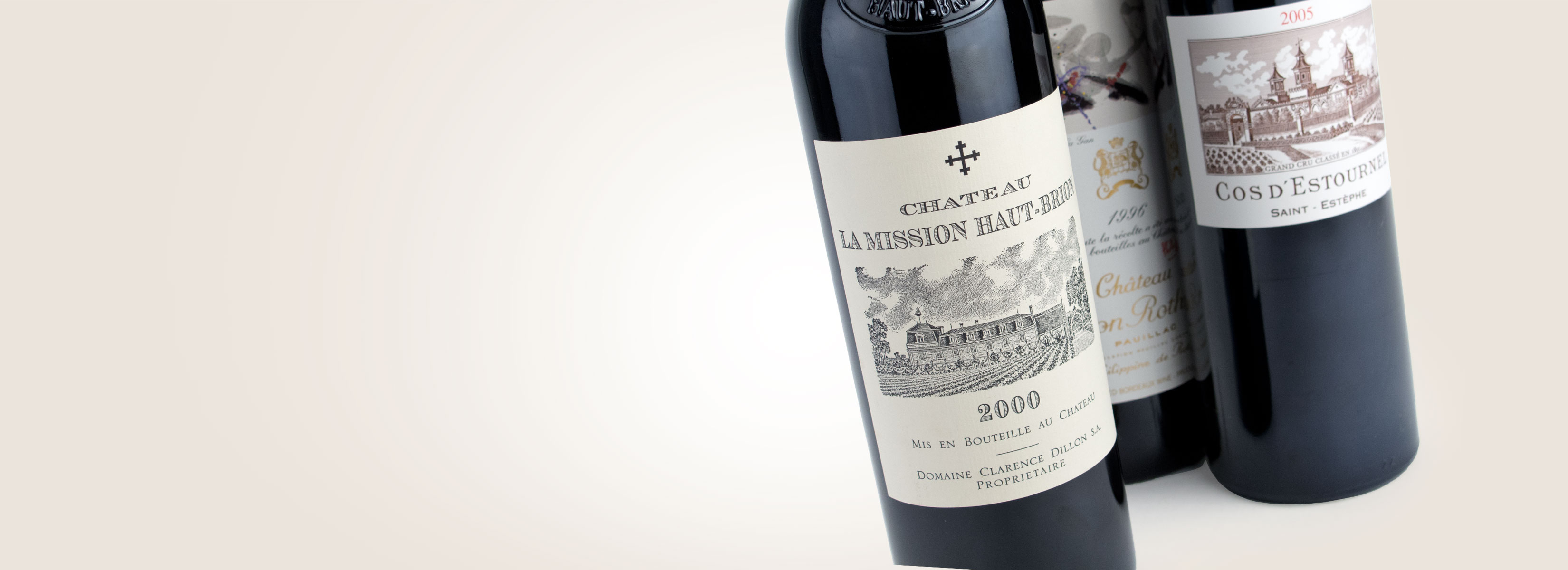 La Mission Haut Brion, Cos D'Estournel, Mouton